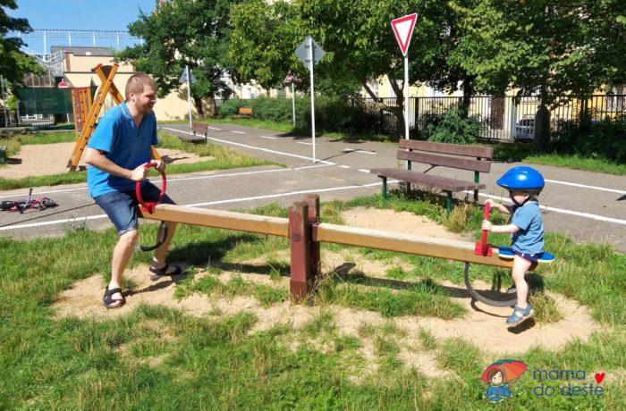 Dětské dopravní hřiště Na Výšinách, Praha 7, Bubeneč