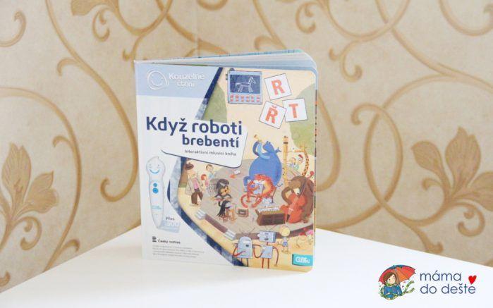 Albi kniha Když roboti brebentí (Kouzelné čtení)