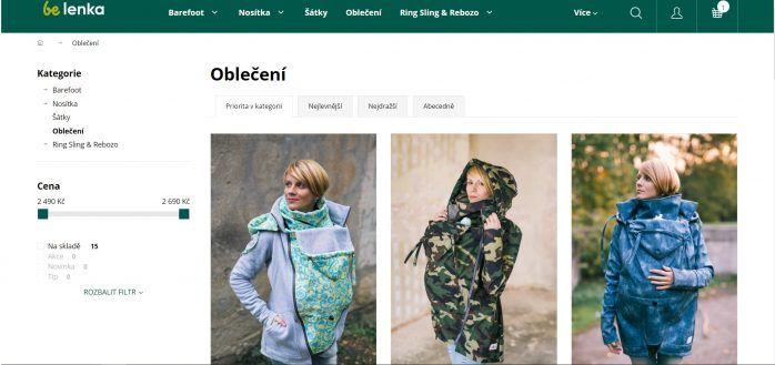 E-shop Belenka.cz