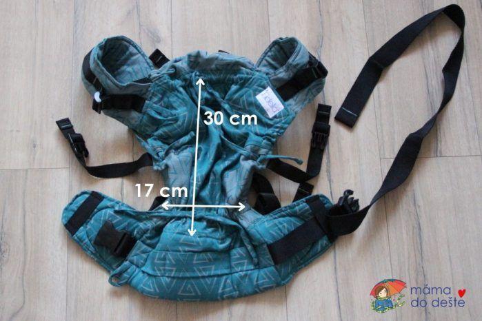 Nosítko Fidella Fusion Baby minimální velikost