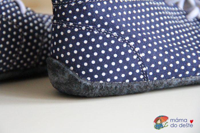 BeLenka barefoot Elegance - kožené boty, kaučuková podrážka.