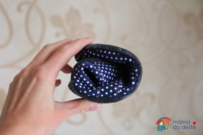 BeLenka barefoot Elegance dark blue dots