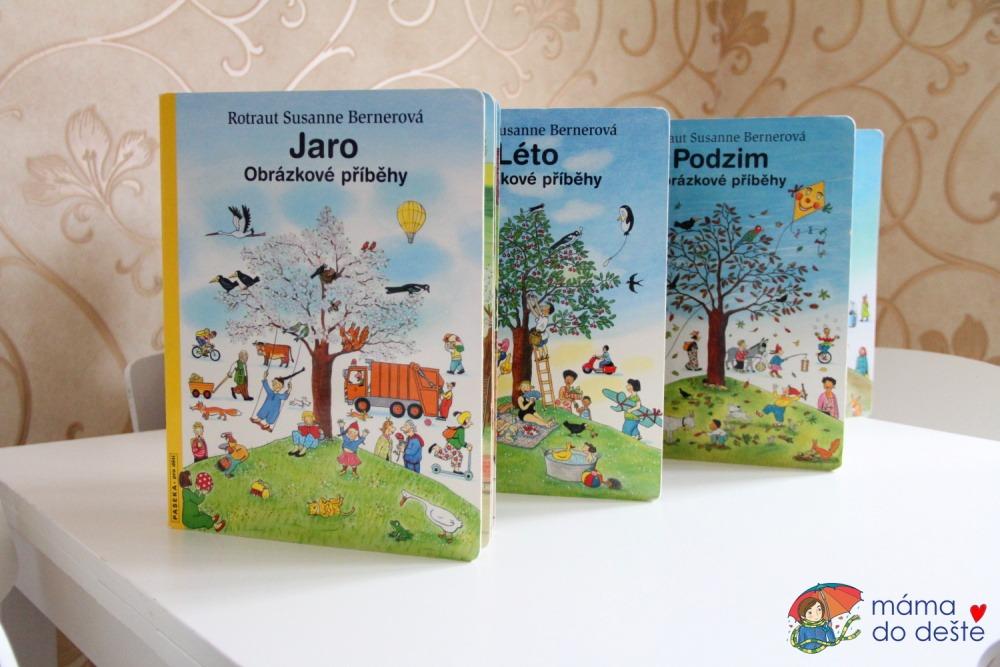 Série knih Jaro, Léto, Podzim, Zima od R.S.Berner