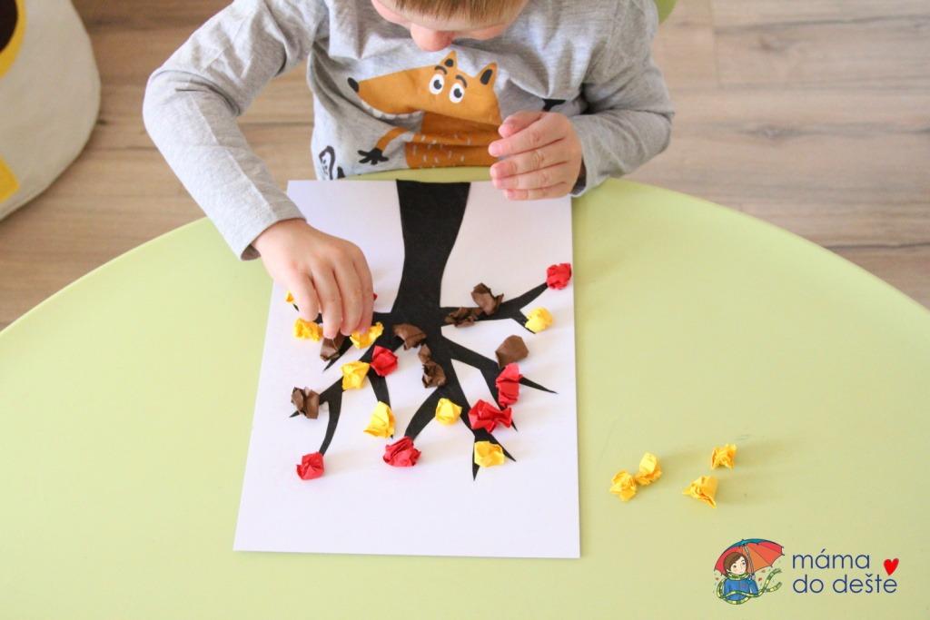 Čtyři tipy na vytvoření podzimního stromu