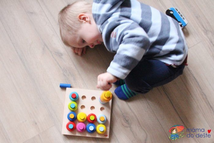 HABA hra s barvami - moment soustředění