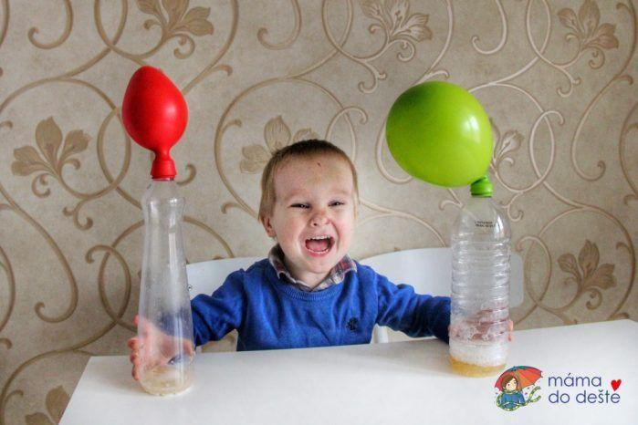 Pokus s balónkem