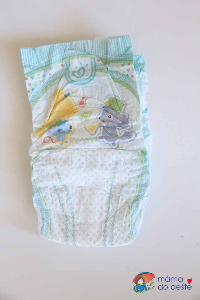 Plenky Pampers Active Dry