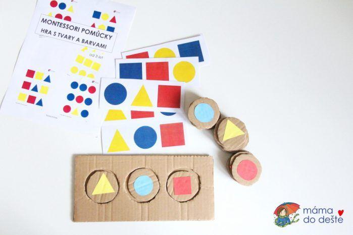Hra s barvami a tvary