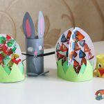 Velikonoční dekorace pro děti diy