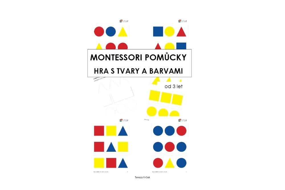 Montessori pomůcky tvary a barvy