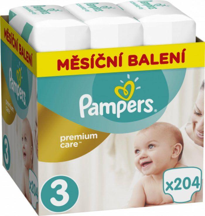 Pampers Premium Care měsíční balení za 999 Kč