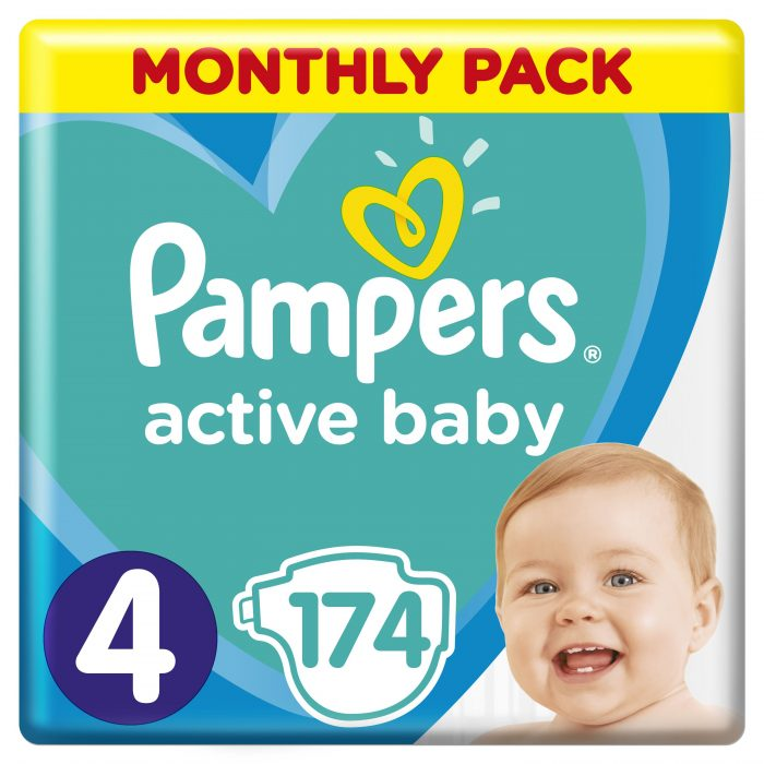 Plenky Pampers Active Baby