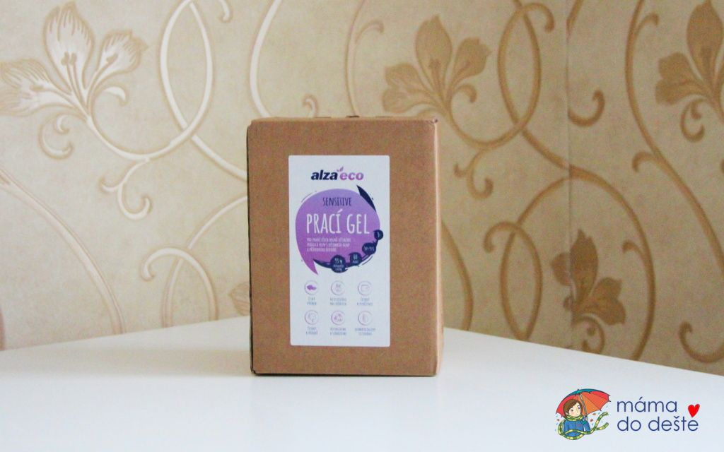 Recenze AlzaEco Prací gel Sensitive