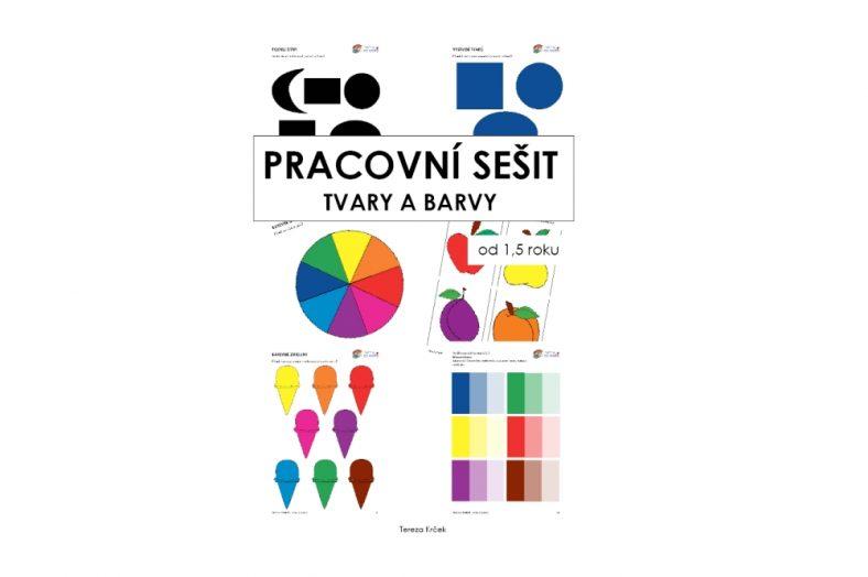 Pracovní sešit tvary a barvy