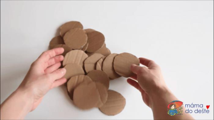 Hra s tvary a barvami: Postup