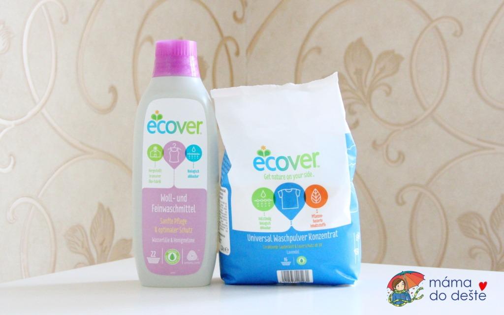 Ecover prací gel a prací prášek