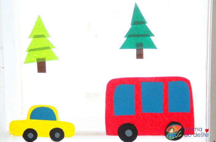 Autíčko aautobus