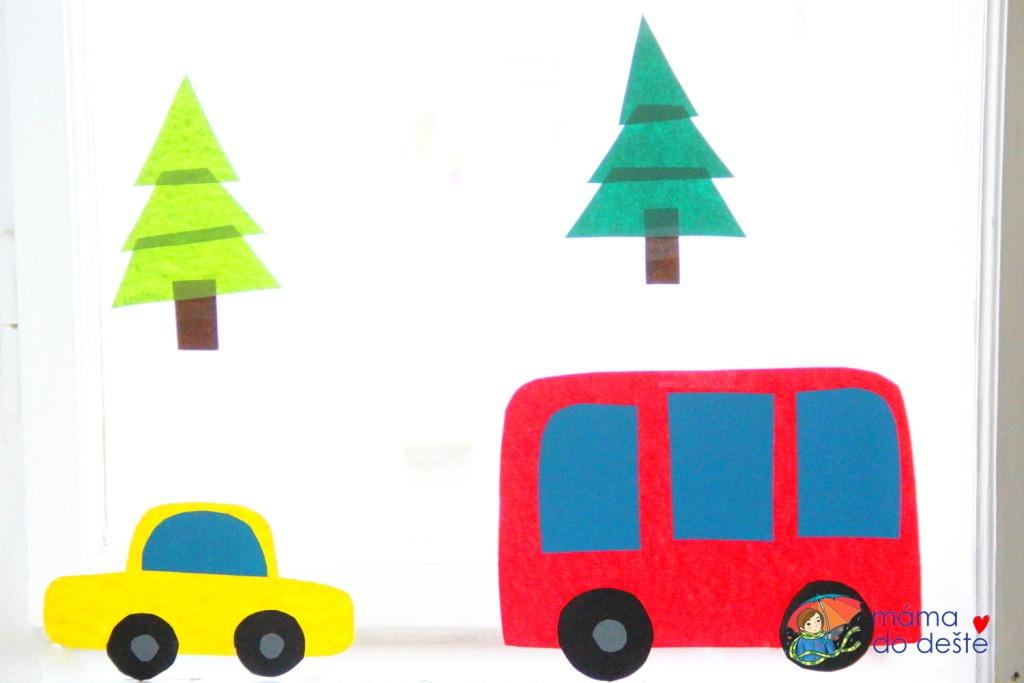 Autíčko a autobus