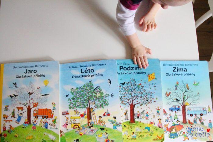 Série knih Jaro, Léto ,Podzim, Zima od R.S.Berner