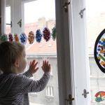 Velikonoční dekorace na okno