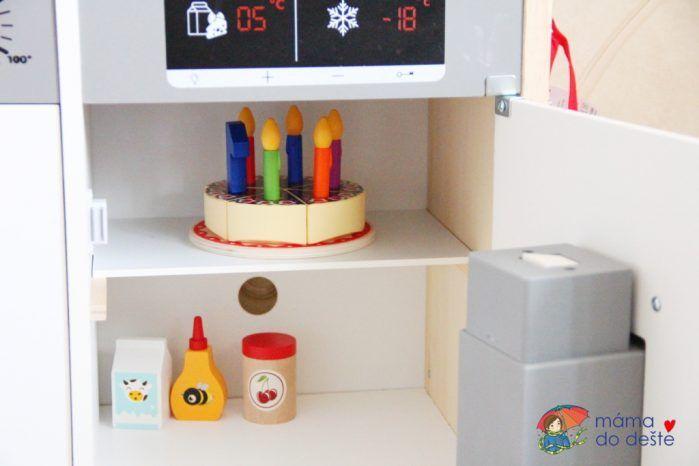 Lednice - Dětská kuchyňka z Lidlu PLAYTIVE®JUNIOR