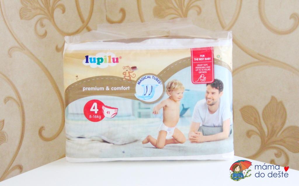 Dětské pleny Lupilu Premium & Comfort