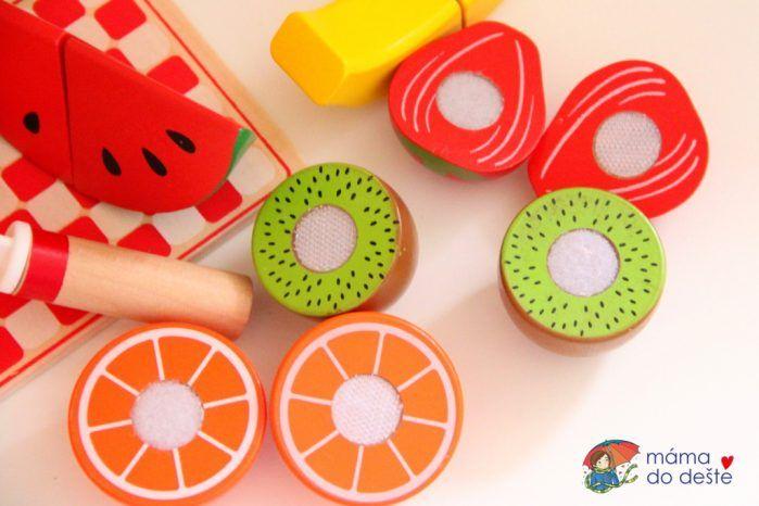 PLAYTIVE®JUNIOR Dřevěné ovoce