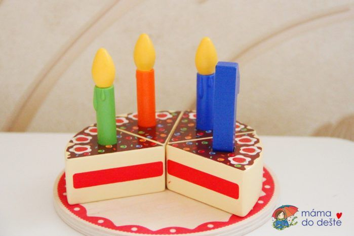 PLAYTIVE®JUNIOR Narozeninový dort