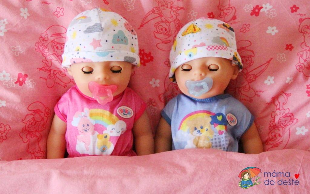 BABY born Soft Touch Little holčička a chlapeček 36 cm