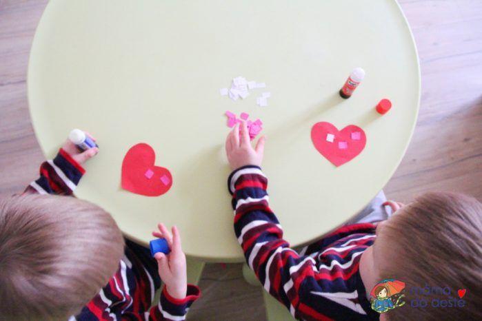 Valentýnské přání pro babičku a dědu