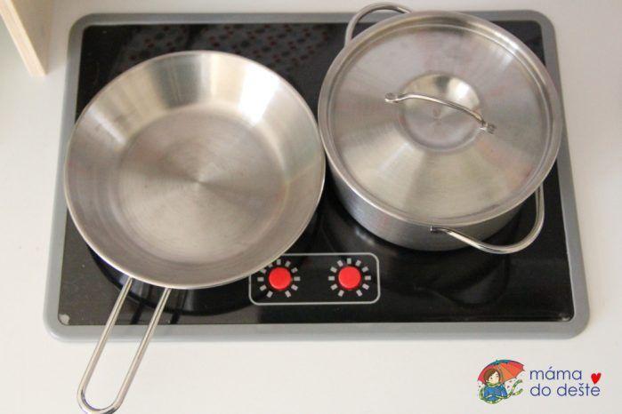 Sada dětského nádobí Ernesto z Lidlu
