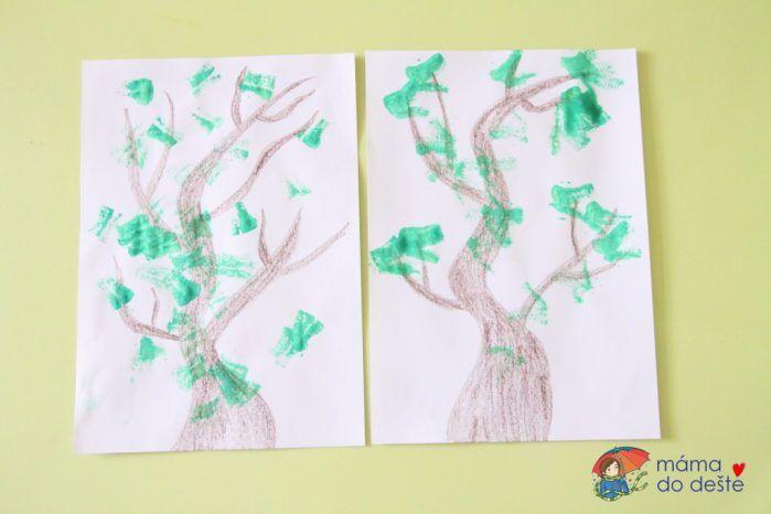 Jarní stromy: Tipy na kreativní odpoledne