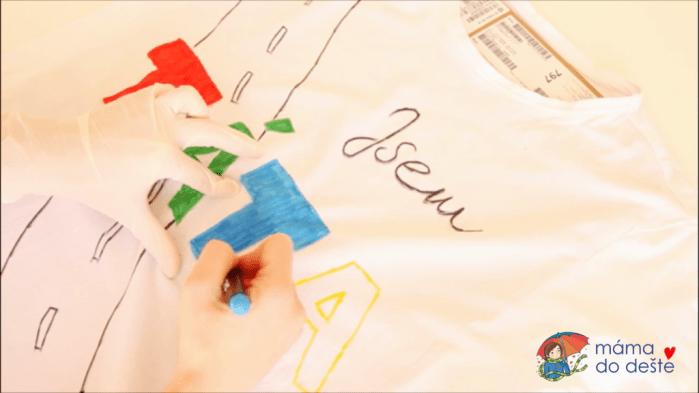 DIY dárek pro tatínka: Originální tričko Jsem TÁTA