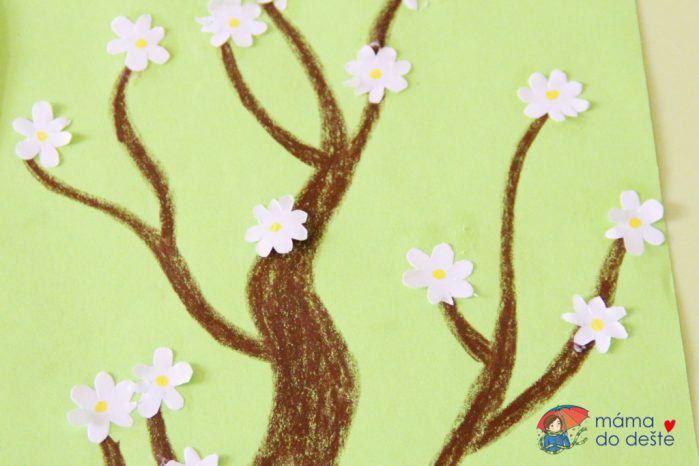 Vyrábíme rozkvetlý šeřík a ovocný strom