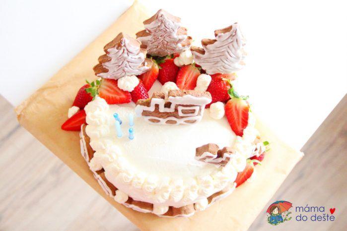 Recept na dort ke čtvrtým narozeninám dort pro děti