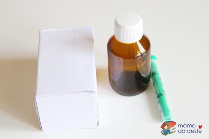 Vybavení lékárničky pro děti