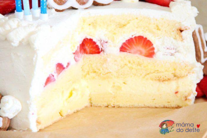 Recept na dort ke čtvrtým narozeninám