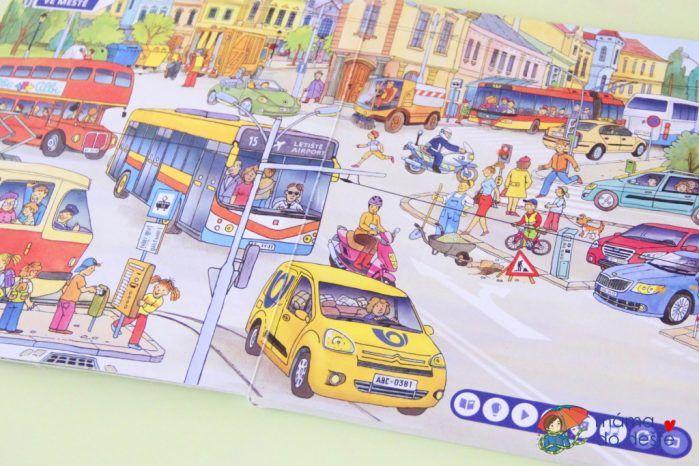 Recenze: Albi kniha Doprava (Kouzelné čtení)