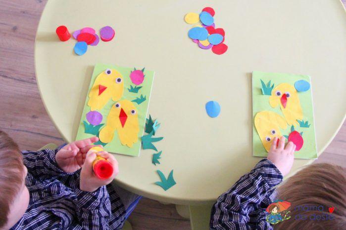 DIY Velikonoční přání pro nejmenší děti