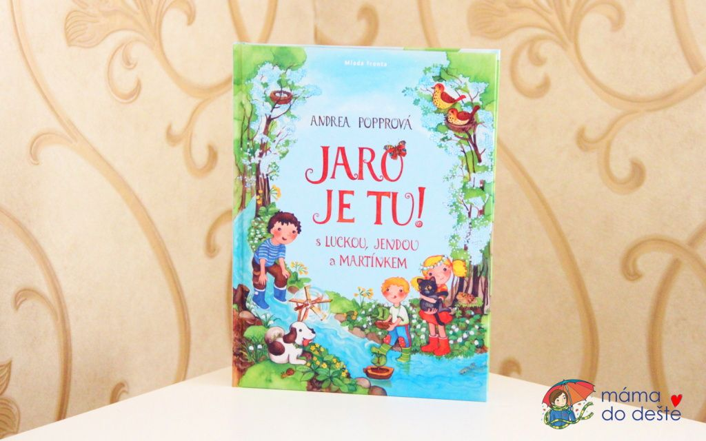Recenze knihy Jaro je tu! (Andrea Popprová)