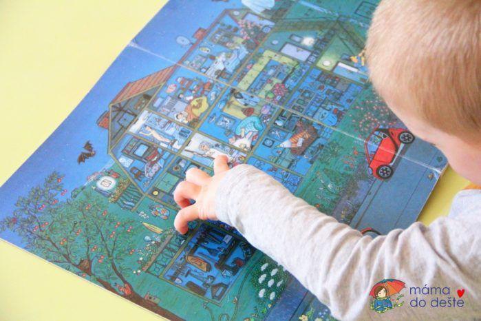 Recenze dětské knihy Noc – Obrázkové příběhy (R.S. Berner)