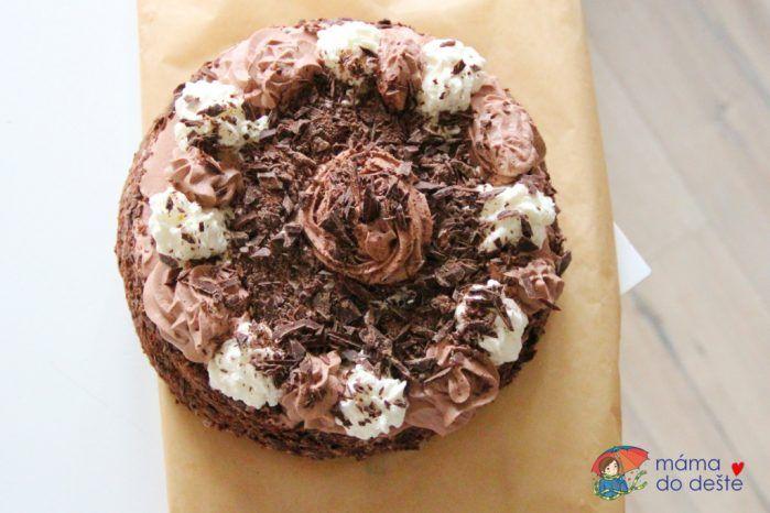 Recept na dort Harlekýn krok za krokem i pro začátečníky