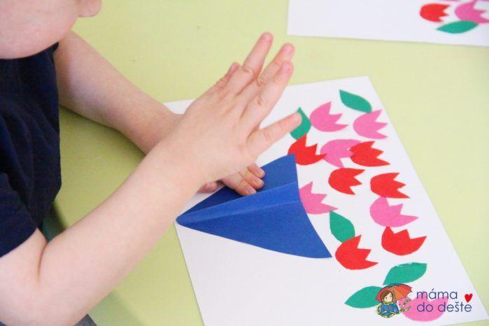 DIY narozeninové přání, které vyrobí i malé děti