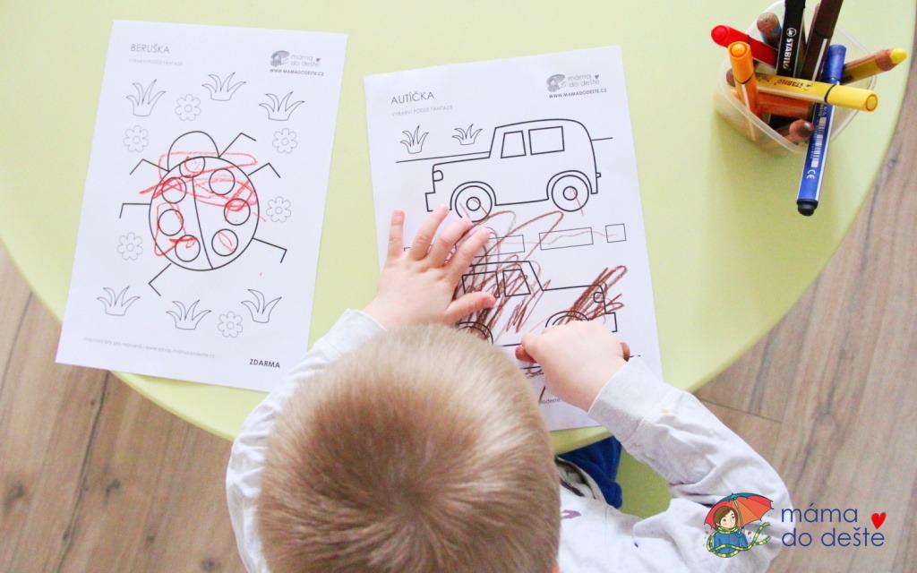 Pracovní listy pro děti v PDF ke stažení zdarma