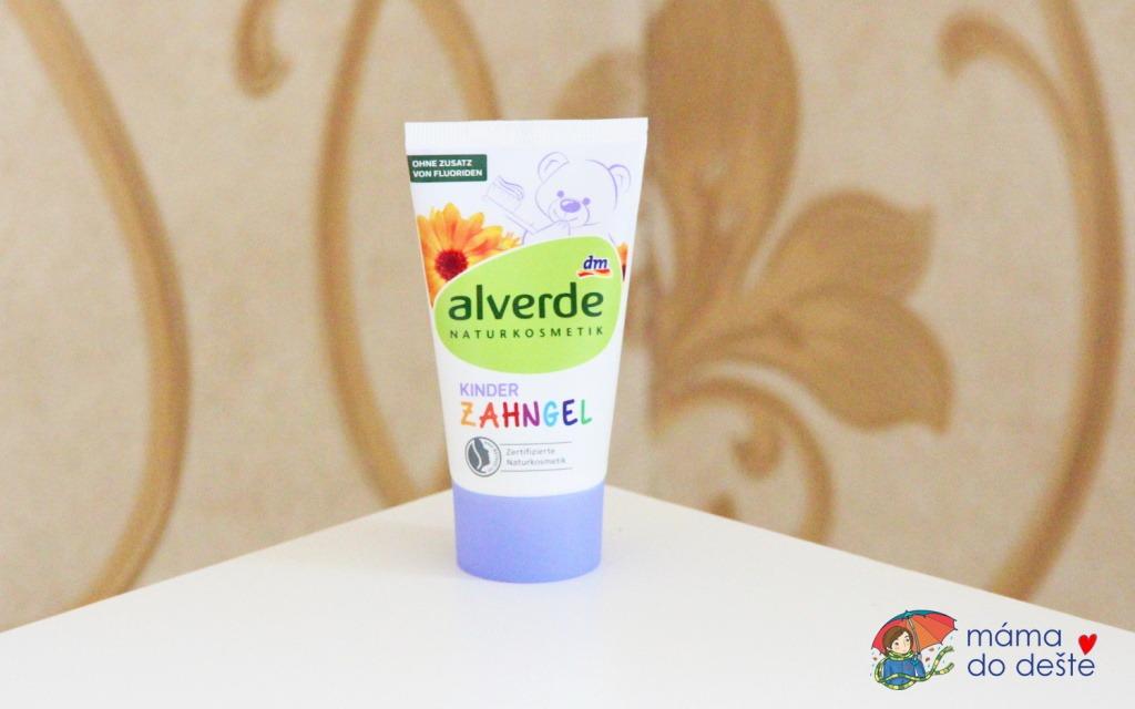 Dětský zubní gel Alverde