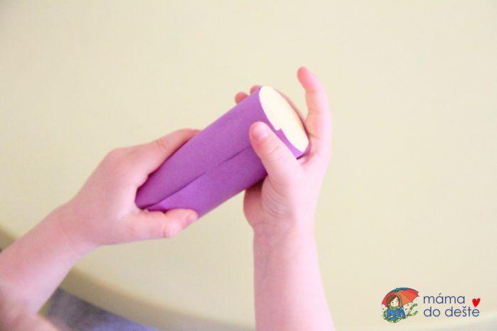 DIY Jarní kytičky ve váze (z brčka, ruličky od toaletního papíru)