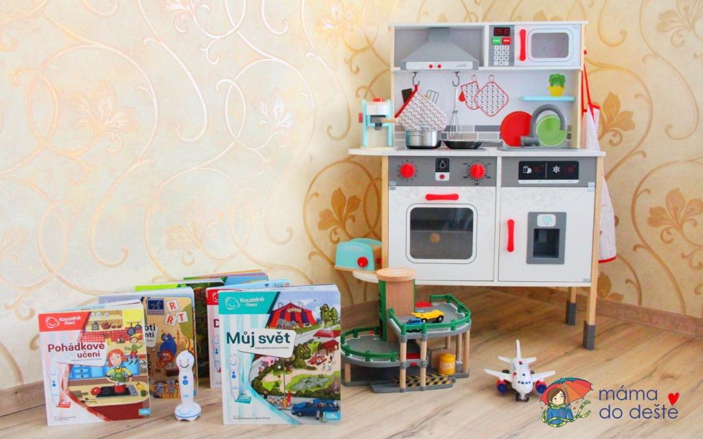 Dárky k Vánocům pro děti od 4 let