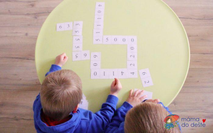 Dárek ke dni dětí: Domino v PDF ke stažení zdarma