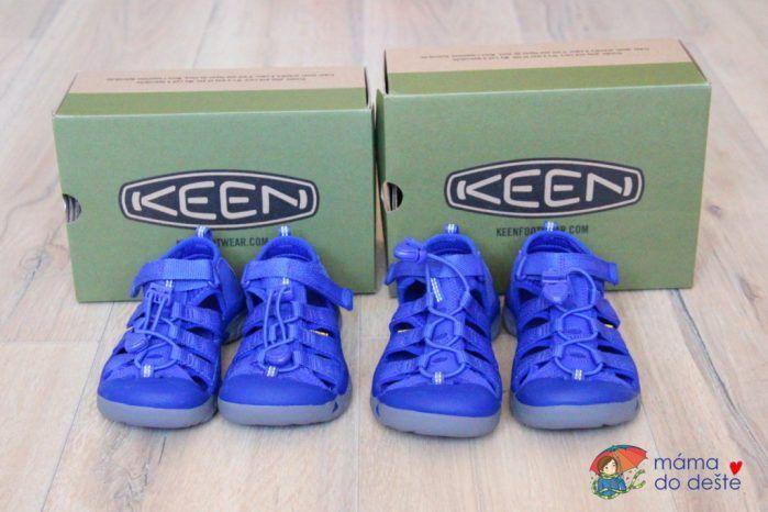 Recenze dětských bot Keen