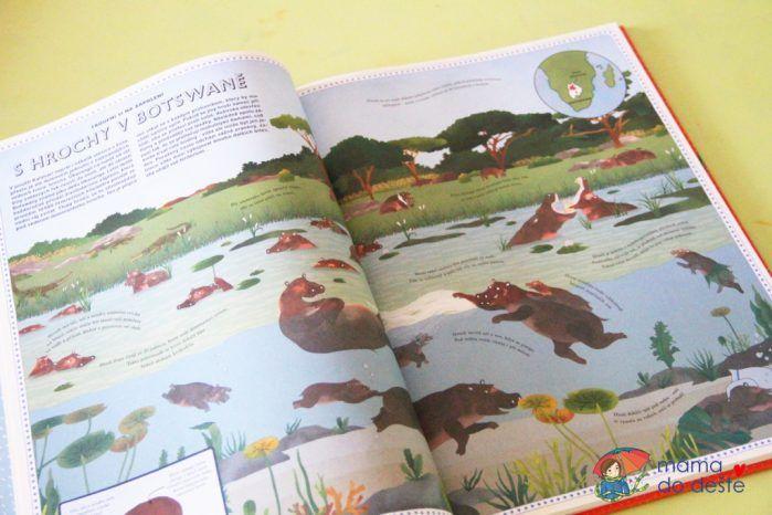Recenze dětské knihy Atlas dobrodružství zvířata